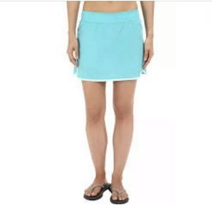 🏕New COLUMBIA Zero Rules Skort Skirt Turquoise